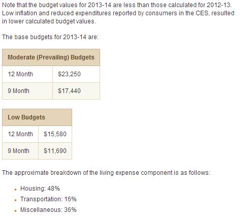 アメリカ留学の生活費