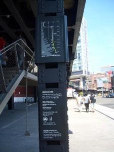 High Line Parkのサイン(看板)
