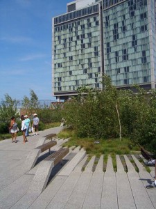 Gansevoort Woodland-HIgh Line Entrance