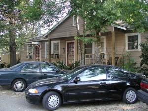 ルイジアナ時代に住んでいたアパート。ルームメイトと一緒に暮らしていた。Dr.Reich先生が所持していることもあり、家賃は125ドルだった。。。