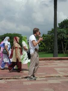 Max Z Conrad先生。 視察旅行(Field Trip)のインドにて。