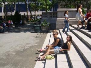 Bryant Park Steps
