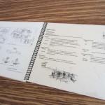 レジュメと実施詳細図の例